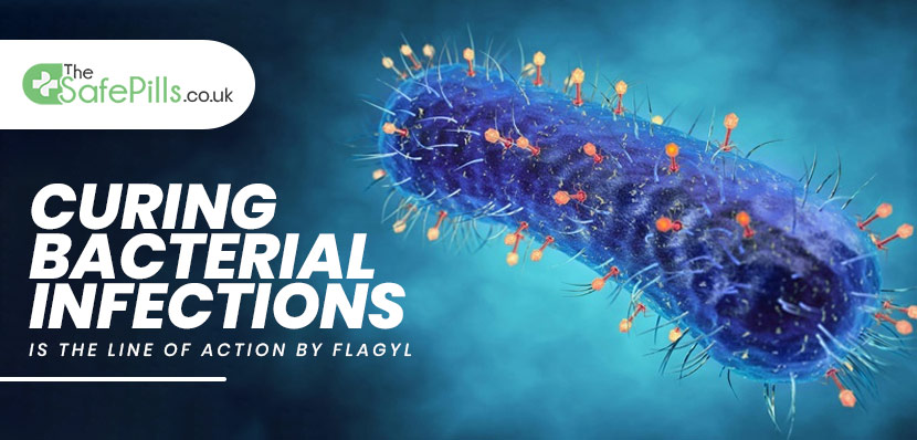 Curing Bacterial Infections is the Line of  Action by Flagyl