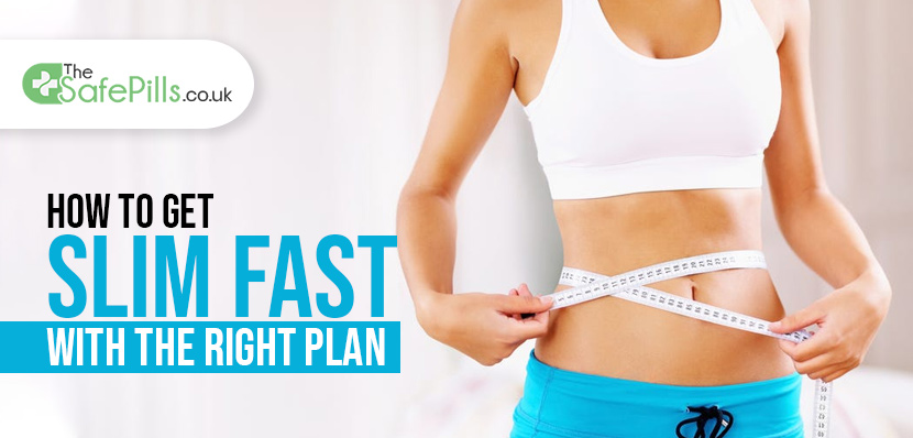 How To Get Slim fast With The Right Plan?