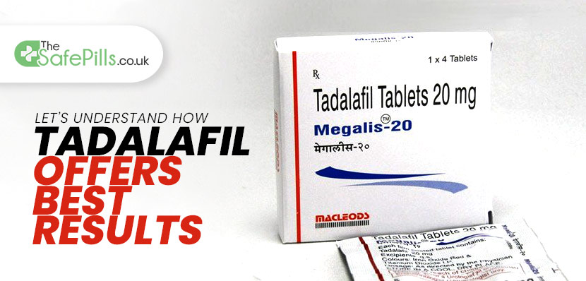 Let's Understand How Tadalafil Offers Best Results